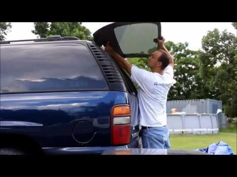 GM SUV Broken Hinges on Rear Glass Lift Gate/Hatch Repair