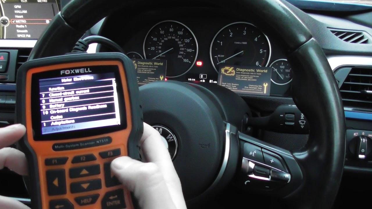 Injector Coding Battery Register Adaption BMW & Mini NT510 NT520