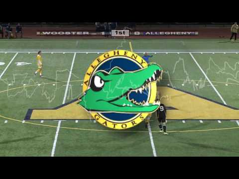 Wooster vs Allegheny-Mens NCAC College Soccer