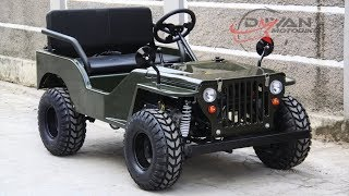 "For sale.. ATV Jeep Willys Brand NEW/ BARU, ""SOUND TEST (istimewa)"