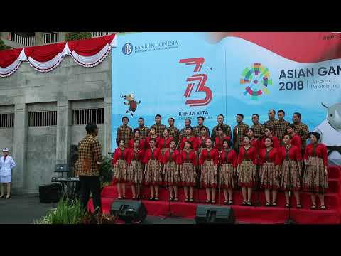 BMPD Jatim Choir - Zamrud Khatulistiwa
