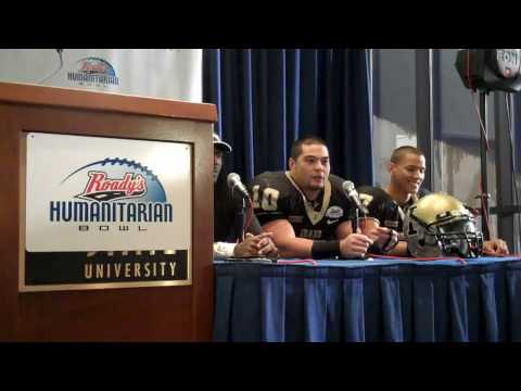 Humanitarian Bowl postgame press conference Part 1