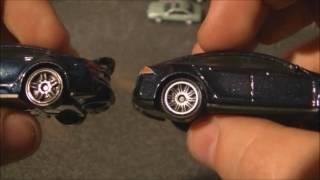 Hot Wheels vs Matchbox Tesla model S reviews