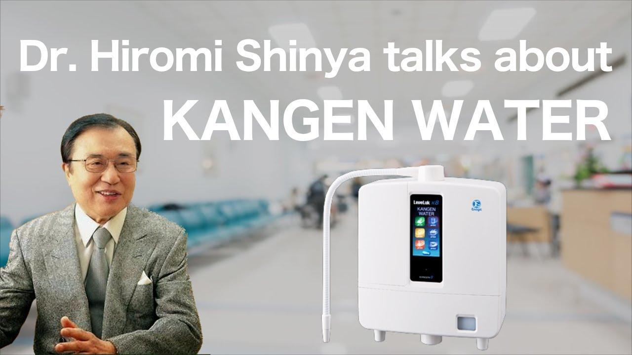 Dr Hiromi Shinya Talks About Kangen Water Youtube