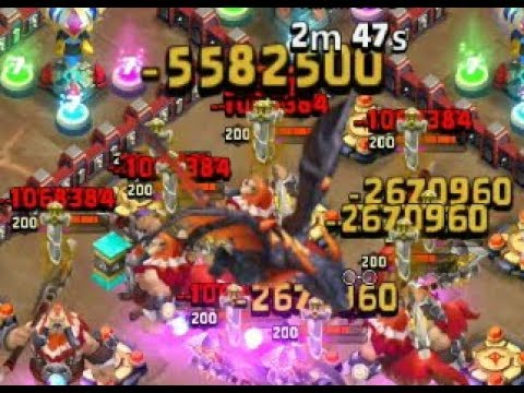 Castle Clash Anubis Brute Force ( Kale Savaşı Ölüm Lordu Kaba Kuvvet )