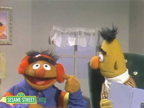 Sesame Street: Ernie's Guessing Game With Bert - YouTube