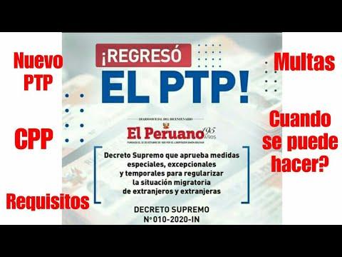 Regresó PTP/CPP/Carné de
