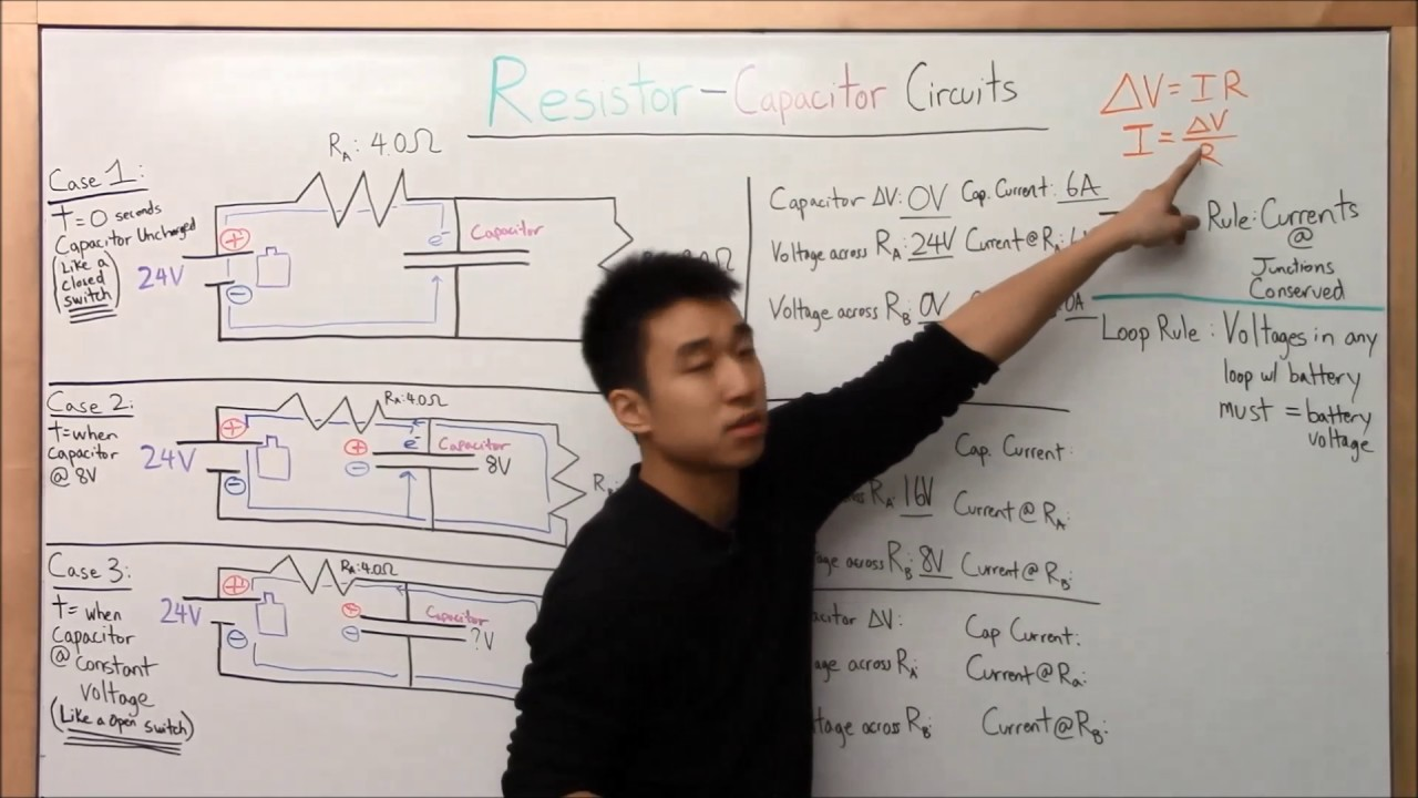Resistor Capacitor Circuits Made Easy Part 2 Physics Circuitforcircuitconceptspage2jpg Bu Py106