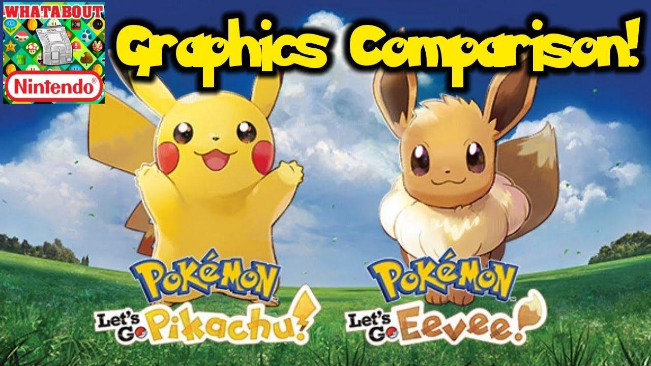Graphics Comparison Analysis Pokemon Let S Go Vs Sun Moon 2018
