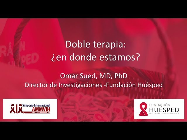 Doble terapia: ¿en dónde estamos? - Dr. Omar Sued