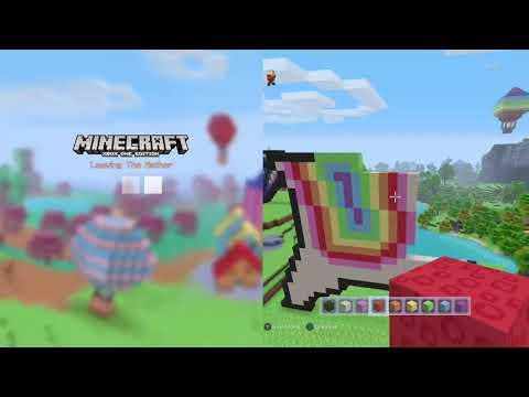 Minecraft Pixel Art Part1 Dabbing Unicorn Youtube