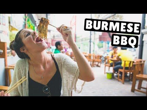 BURMESE BBQ & GOLDEN BUDDHAS | Mandalay, Myanmar