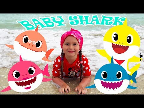 Baby Shark – Sing And Dance | Animal Song For Kids From Nika Kid