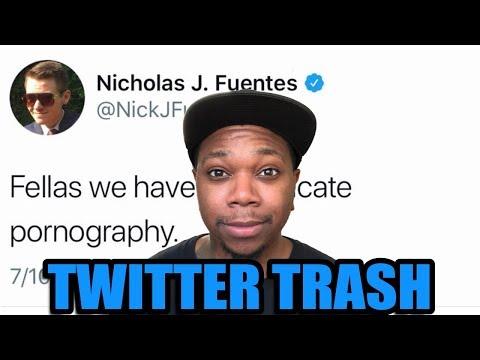 WE MUST ERADICATE pr0n - Twitter Trash