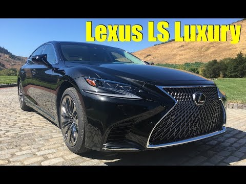 2018 Lexus LS 500: Flying First Class in the Back Seat