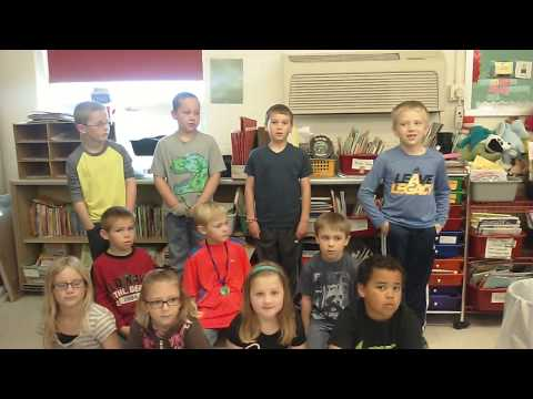 How first graders in armour South Dakota are kind