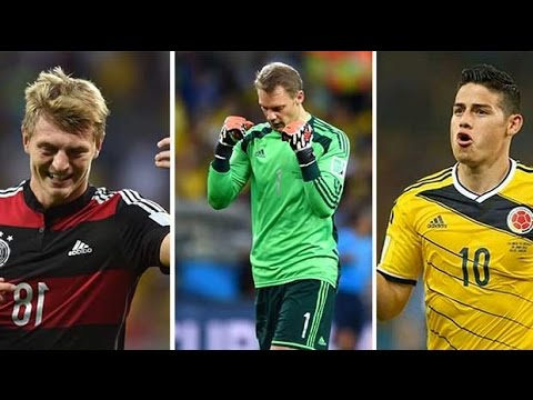 World Cup final 2014: Paul Hayward's team of the tournament