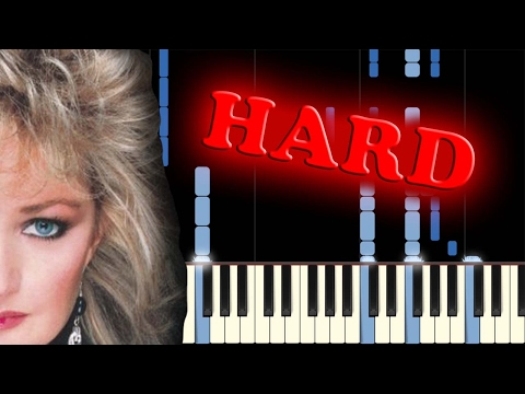 BONNIE TYLER  TOTAL ECLIPSE OF THE HEART  Piano Tutorial