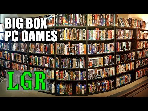 LGR - The Big Box PC Game Collection Room Tour
