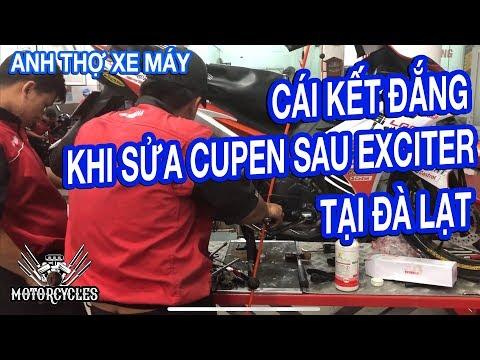 Nhân Viên Yamaha Đà Lạt Vật Lộn với Cupen Sau Exciter, Tại Sao? | Motorcycles TV