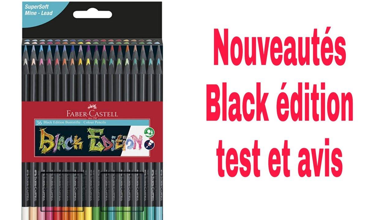 Présentation nouveautés crayons black édition Faber castell