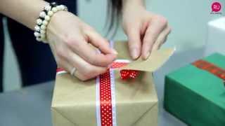 Оригинальная упаковка для подарков(Мастерская новогодних украшений и подарков в лице мастера, декоратора-флориста Юлии Королевой советует..., 2014-12-16T07:11:00.000Z)