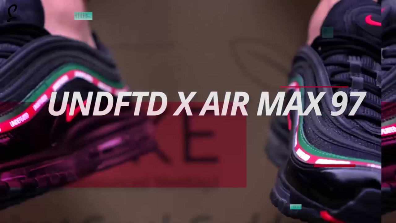 size 40 ac059 c4218 UNDFTD x Nike Air Max 97 Early Unboxing Gucci Undefeated Nike Collab