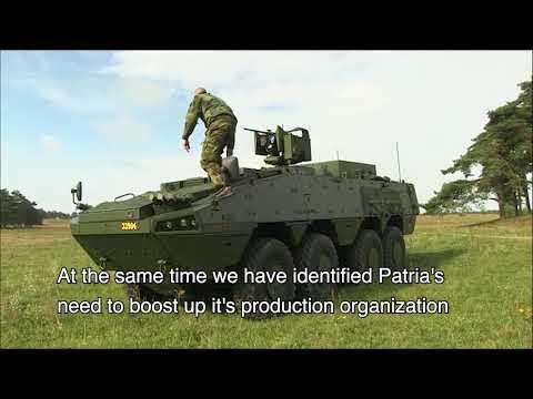 Patria AMV - Swedish User Experience