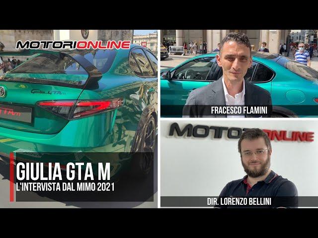 MiMo 2021 | INTERVISTA A FRANCESCO FLAMINI, Resp. Marketing Italia Alfa Romeo