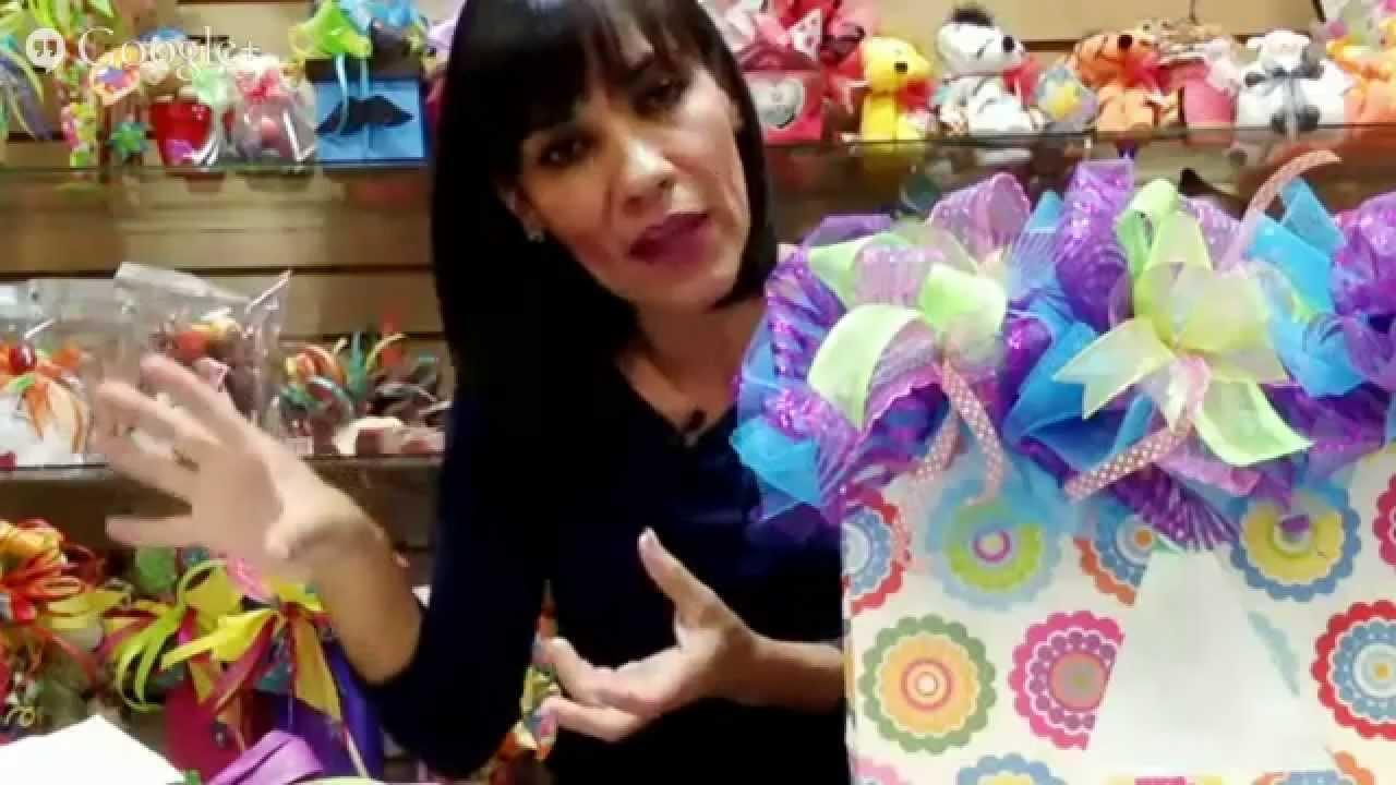 Reunion virtual decoracion de bolsa de regalo youtube - Como decorar bolsas de papel ...
