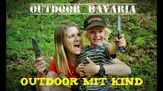 Outdoor mit Kind - Übernachtung im Buchenwald  -Ein Kinderfilm von Vanessa Blank-Outdoor Bavaria
