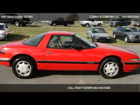 1991 buick reatta for sale in lakeland fl 33813 youtube publicscrutiny Images