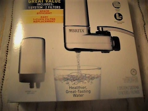 FIXING PROBLEM FOR BRITA FACET FILTRATION SYSTEM - YouTube