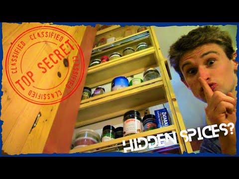 Sautéeing a SECRET Spice Rack (DIY How-To)