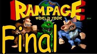 Rampage World Tour Walkthrough Finale