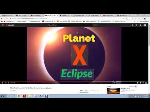 Planet X Solar Eclipse Kicks OFF Events !