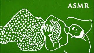 ASMR Binaural Pyjama Ramble | Social Anxiety and Work