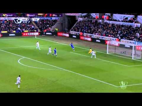 Primer League  Swansea 0-5 Chelsea
