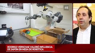 Rodrigo Verschae valoró influencia de Japón en mesa de robótica
