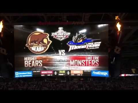 Lake Erie Monsters Intro Calder Cup Finals Game Four