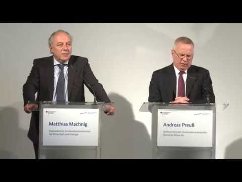 """Pressekonferenz zum Start des Programms """"Deutsche Börse Venture Network"""""""