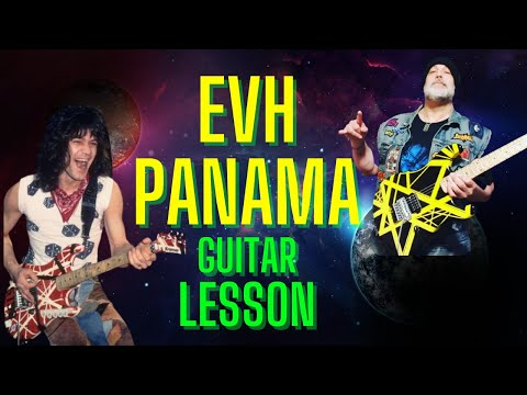 How to play Van Halen Panama on guitar pt 1