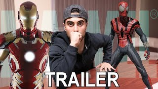 "MY REACTION TO ""INFINITY WAR"" TRAILER! *SURPRISE IN VLOG*"