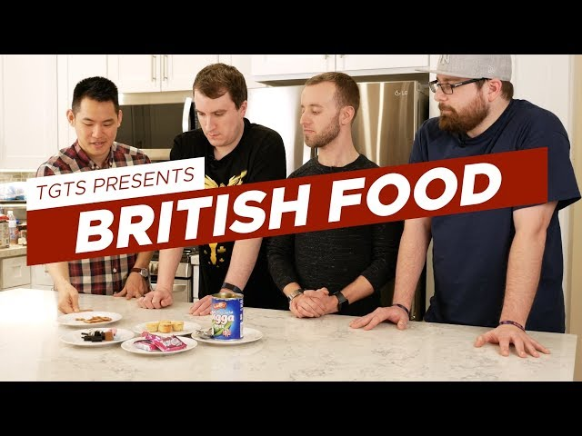 Tech Geeks Try British Food | TGTS S2E08