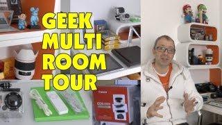 Geek Multi Room Tour | Studio | Editing Room | Audio Video Setup | Storage