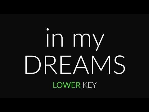 In My Dreams (Lower Piano karaoke) Ruth B