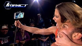 Robbie E And Brooke Race For The Win at Lockdown (Feb. 6, 2015)