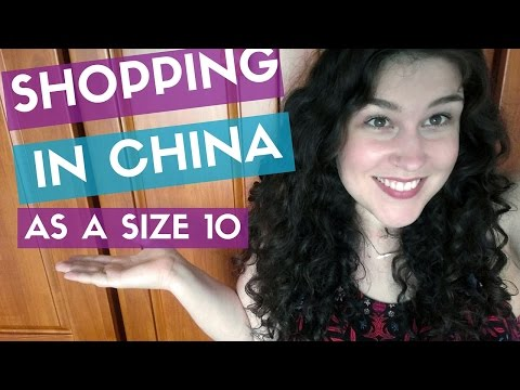 SHOPPING IN CHINA, SIZE 10  - American Girl In Nanjing