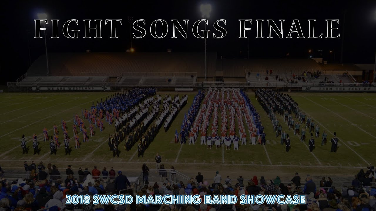 2018 SWCSD Marching Band Showcase - Fight Songs Finale!