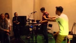 Эрнесто Заткнитесь танцует в Пензе 2015(Организаторы мероприятий, берите в аренду оборудование в компании